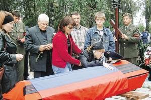 Похороны И.Ржавитина