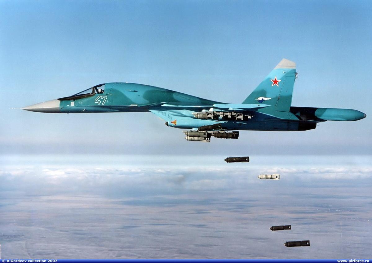 Еще один контракт на 92 Су-34 для ВВС России до...