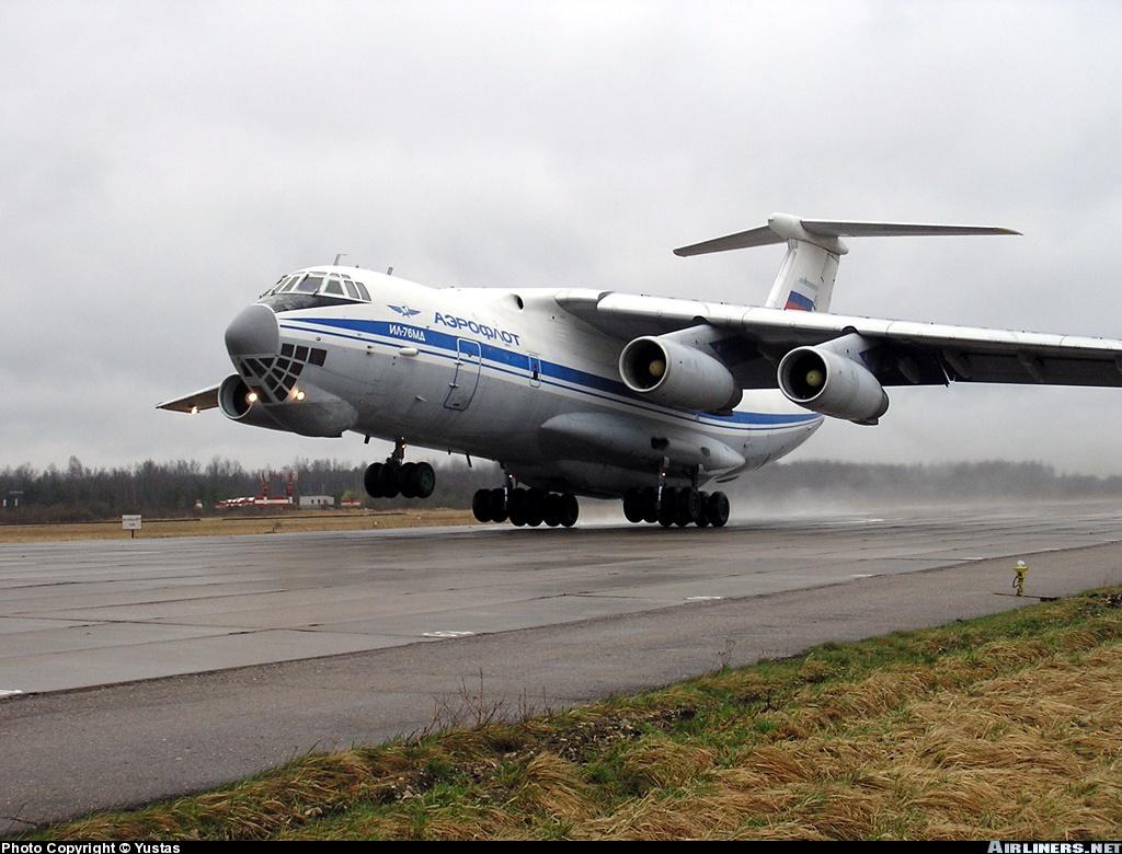 Фото Airliners.net / Aviation Photos: Ilyushin Il-76MD (Russia - Air Force) Военно-транспортный самолет Ил-76МД...