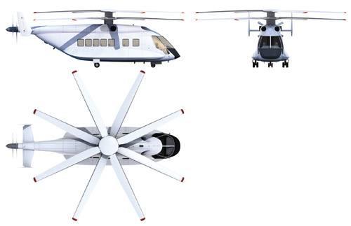 Перспективный скоростной вертолет взлетит через 7-10 лет » Герои неба
