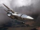 Фронтовой бомбардировщик Су-24. Фото компании Сухой