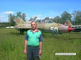 Ковалев А.И. возле МиГ-21УС