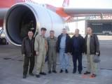 Летный экипаж самолета Ту-204-100В. Пресс-служба ОАО ПМЗ