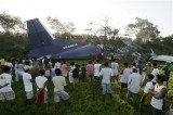 Катастрофа Ан-12 UP-AN216, фото AP