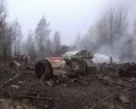 Катастрофа Ту-154 президента Польши. Фото Reuters TV