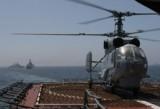 Ка-27 на палубе БДК