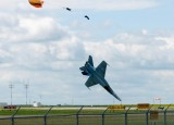 Катапультирование из CF-18