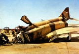 сбитый Phantom II ВВС Ирана