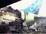 """Катастрофа в Иркутске 9 июля 2006 года. Погибли 124 человека. У """"Эрбаса"""" был неисправен реверс левого двигателя, но с таким дефектом данному типу самолетов в России полеты разрешены. фото: AP"""