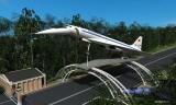 Проект установки Ту-144Д у входа на аэрокосмический салон МАКС
