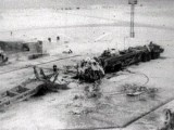 Обломки ракеты на Байконуре, катастрофа 24 октября 1960 года. Фото с сайта wikipedia.org