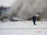 Место катастрофы Ан-148. Фото: ГУ МЧС по Белгородской области