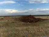 Место катастрофы МиГ-29КУБ
