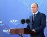 В.В.Путин на МАКС 2011