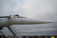Ту-144Д 77115 носовая часть