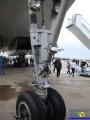 Ту-144Д 77115 передняя стойка шасси
