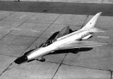 Опытный самолёт Е-2 со стреловидным крылом