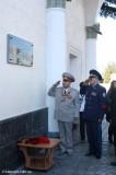 Мемориальная доска Амет-хану Султану на здании ж.д.вокзала в Симферополе