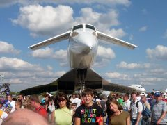 Ту-144 на МАКС 2011