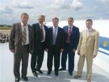 Руководство Клуба и МО на крыле Ту-144