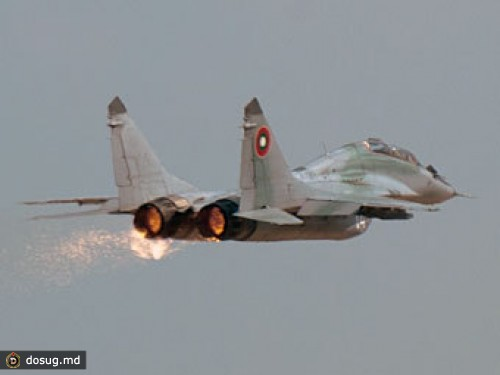 Авария МиГ-29УБ ВВС Болгарии
