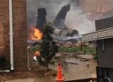 Авария F/A-18 в Вирджиния-Бич. Фото ©AP