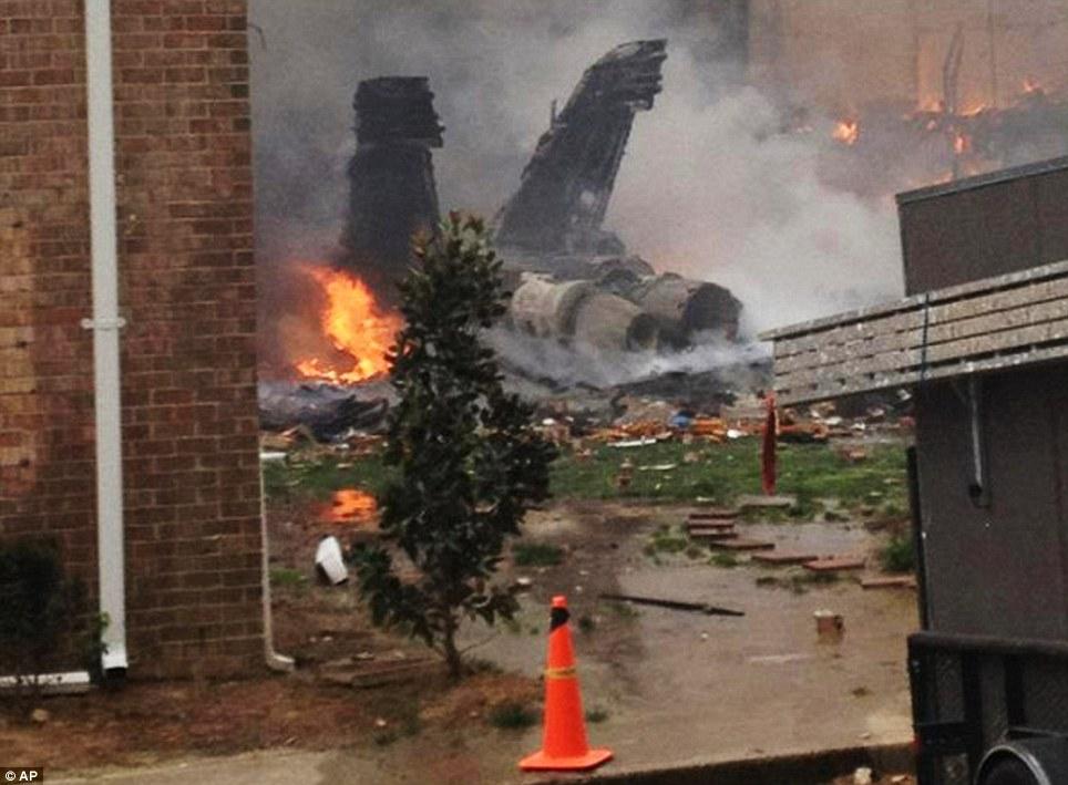 Авария F/A-18