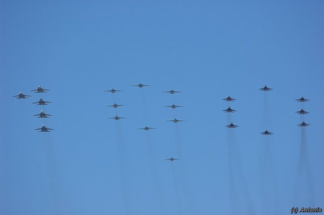 100 лет ВВС России