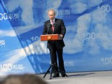 Выступление В.В.Путина на 100-летии ВВС в Жуковском