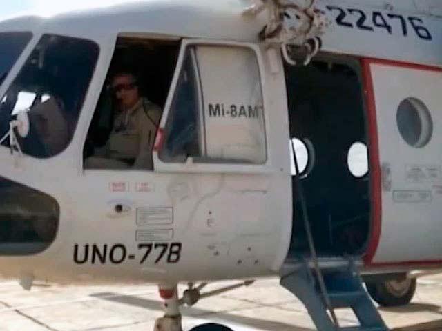 Ми-8 в Судане