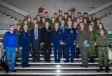 Участники военно-исторической конференции