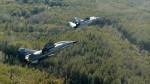 В небе МиГ-29УБМ и