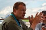 С.Л.Богдан дает интервью
