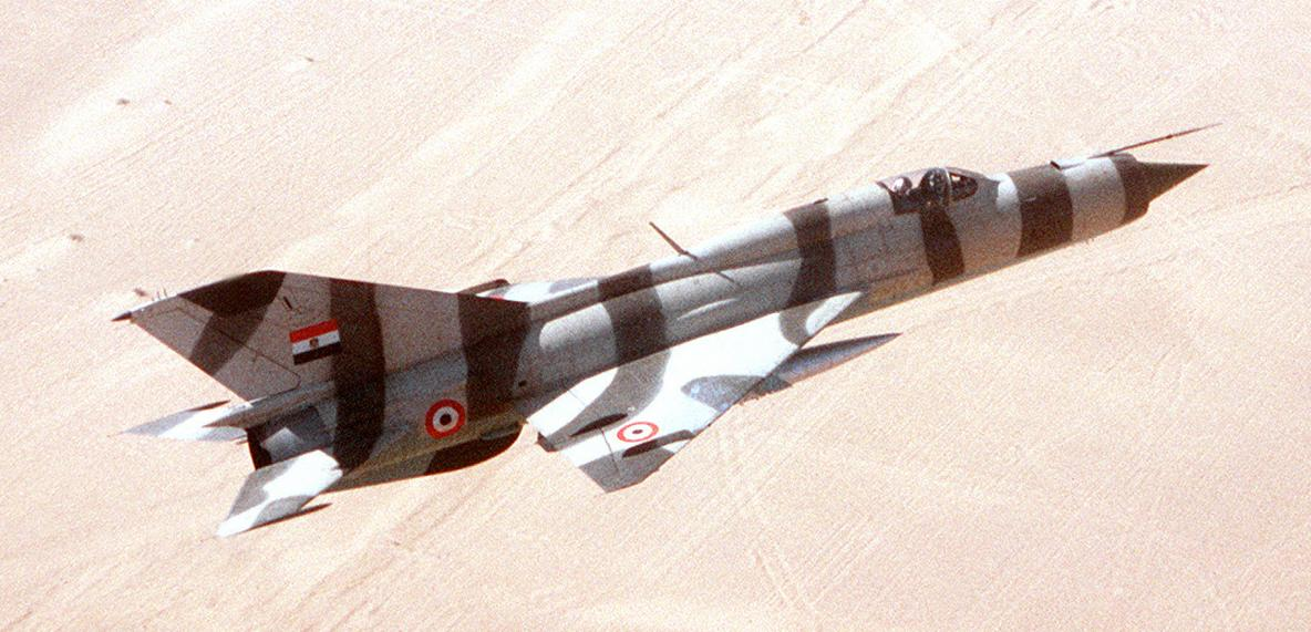 МиГ-21 ВВС Египта