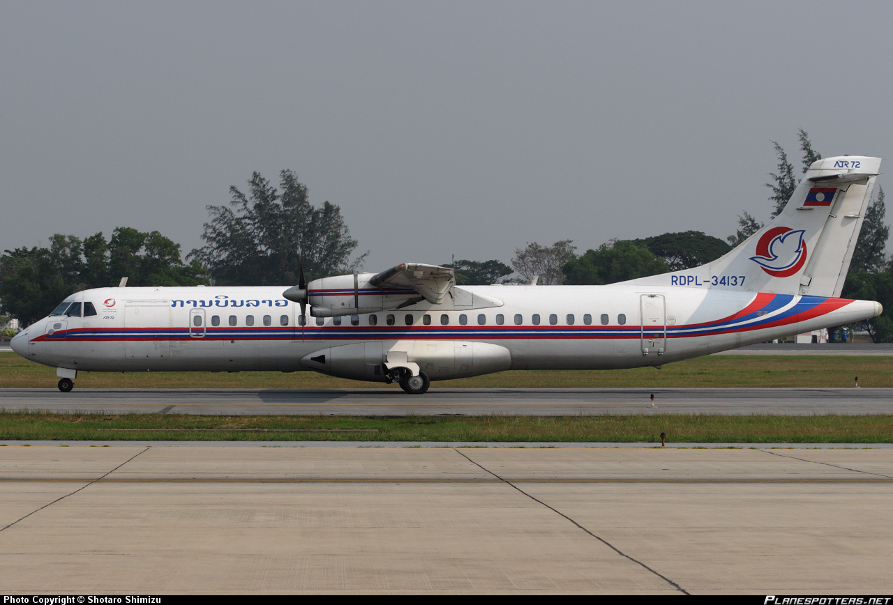 ATR-72 Lao-Airlines