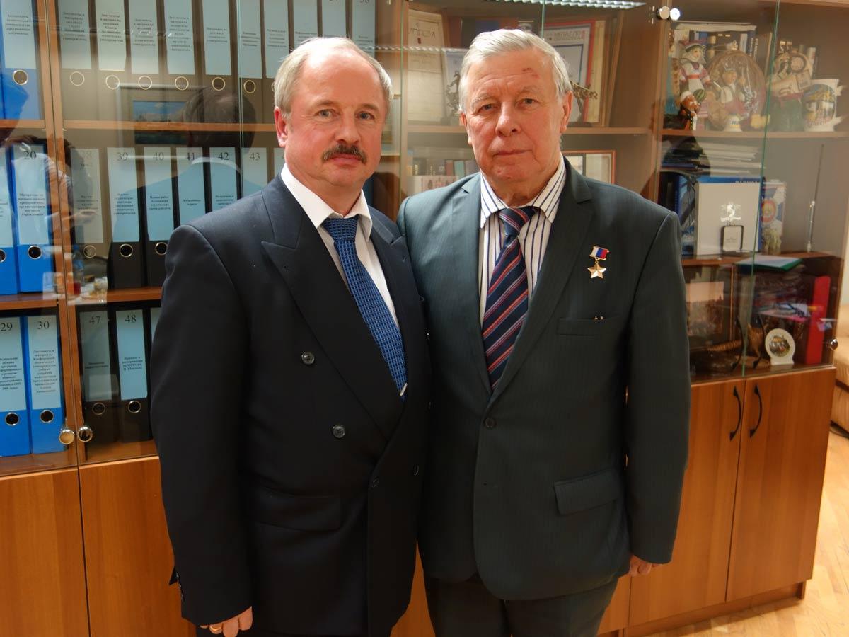Ю.Меркурьев и Г.Ирейкин