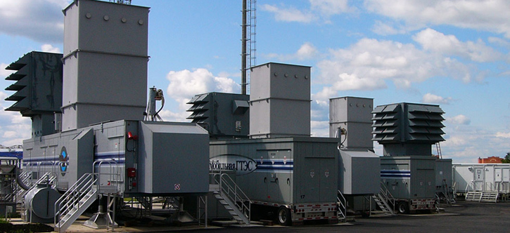 мобильные газотурбинные электростанции (ГТЭС)