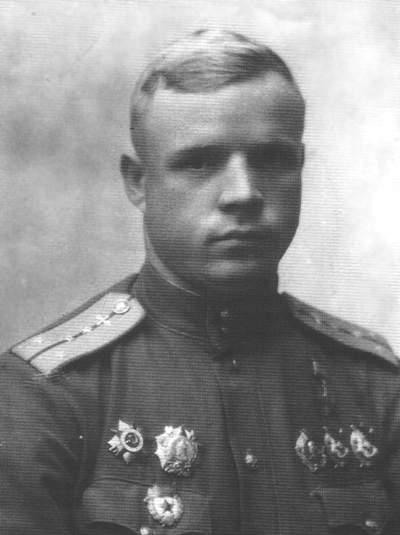 Дважды Герой Советского Союза А.Ф.Клубов