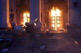 2 мая. Пожар в Доме профсоюзов в Одессе.