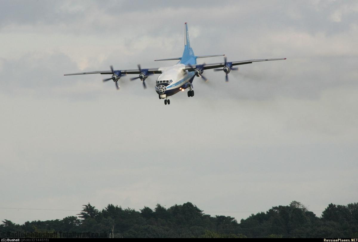 Ан-12БК Бортовой №: UR-DWF