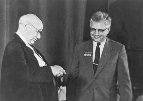 А.Н.Туполев и С.М.Егер