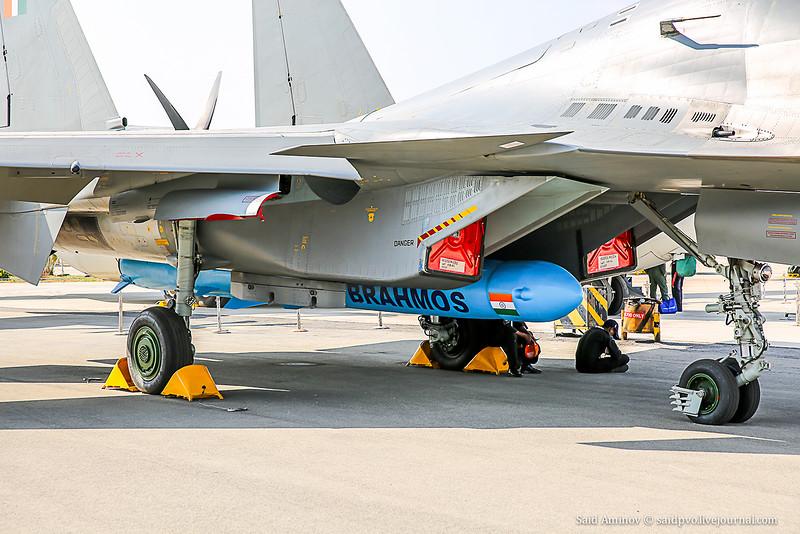 Су-30МКИ c КР Brahmos-A
