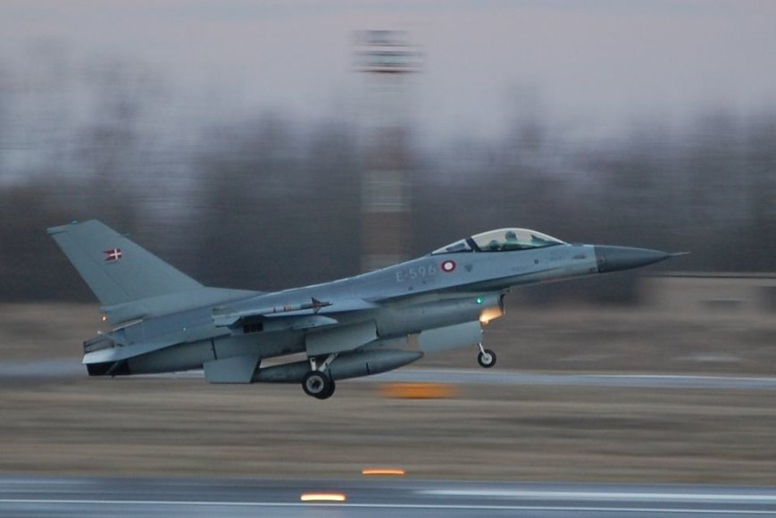 F-16 ВВС Дании