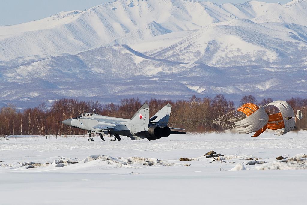 МиГ-31 на Камчатке