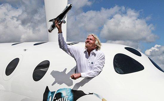 Британский миллиардер и владелец холдинга Virgin Group Ричард Брэнсон