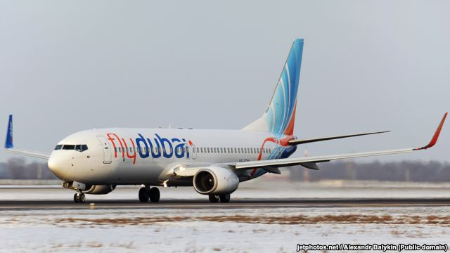 Boeing 737-800 Flydubai