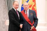 """Генрих Новожилов награжден орденом """"За заслуги перед Отечеством"""" I степени"""