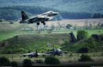 """Штурмовики Су-25СМ на авиабазе """"Черниговка"""""""