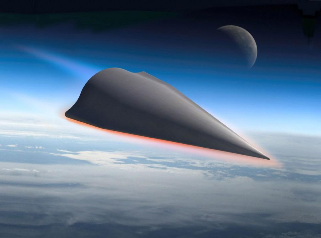 Возможный вид одного из вариантов гиперзвукового летательного аппарата. Фото с сайта www.darpa.mil