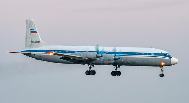 Разбившийся Ил-18